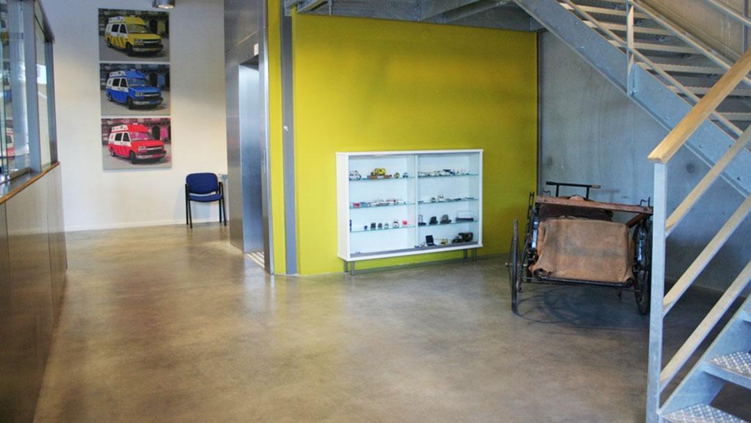mineralische designbeschichtung 1 - Logistik