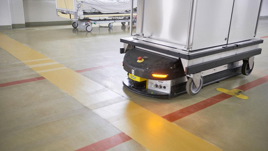 Quiflex Flüssigfuge in der Uniklinik Leipzig