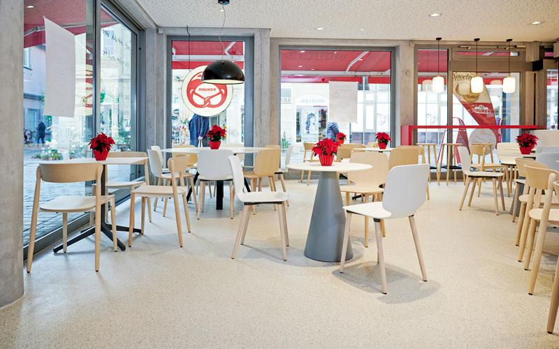 P&K verlegt Durastone beim Bäcker Maurer