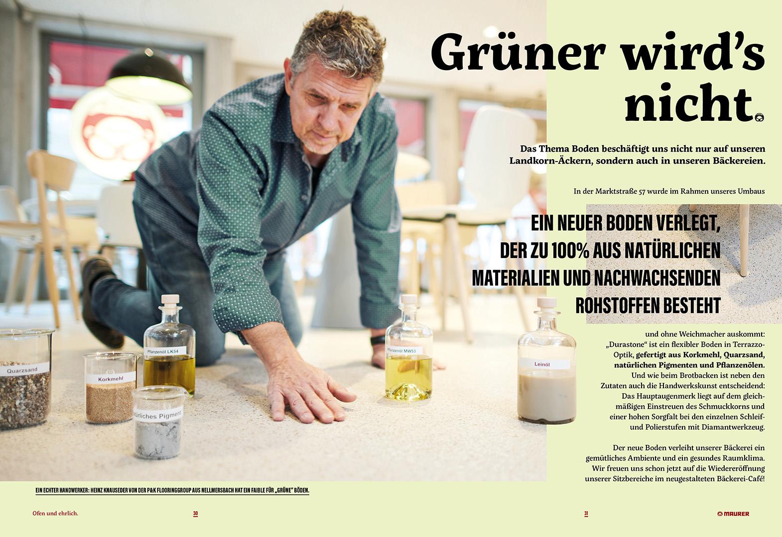 Magazin 03 30 31 1 - P&K verlegt Durastone beim Bäcker Maurer